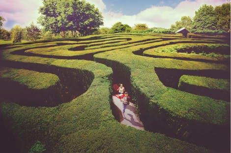 باغهای پرپیچ و خم انگلستان